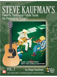 Steve Kaufman's Favorite Traditional Fiddle Tunes Books | Guitar, Guitar Tab