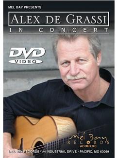 Alex De Grassi In Concert DVDs / Videos | Guitar