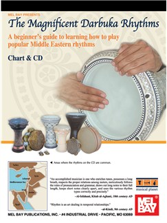 Magnificent Darbuka Rhythms Books and CDs | Percussion