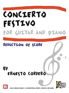 Concierto Festivo For Guitar And Piano Books | Guitar