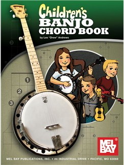 Children's Banjo Chord Book Books | Banjo