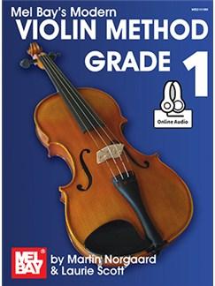 Martin Norgaard/Laurie Scott: Modern Violin Method, Grade 1 (Book/Online Audio) Books and Digital Audio | Violin