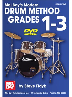 Modern Drum Method Grades 1-3 DVDs / Videos | Drums