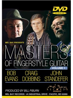 Masters of Fingerstyle Guitar: Volume 1 DVDs / Videos | Guitar