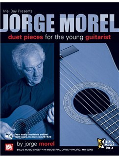 Jorge Morel: Duet Pieces for the Young Guitarist Books | Guitar