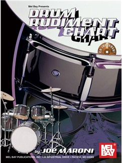 Drum Rudiment Chart Books and CDs | Snare Drum