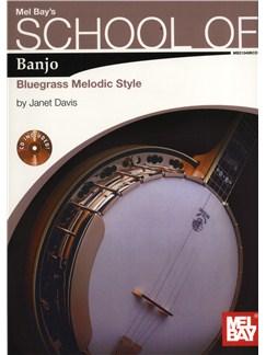 Janet Davis: School of Banjo - Bluegrass Melodic Style Books and CDs | Banjo