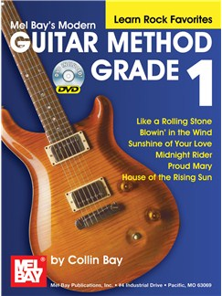 Modern Guitar Method Grade 1, Learn Rock Favorites Books and DVDs / Videos | Guitar