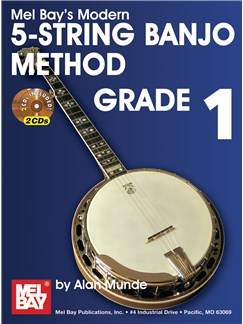 Modern 5 - String Banjo Method Grade 1 Books and CDs | Banjo, Banjo Tab