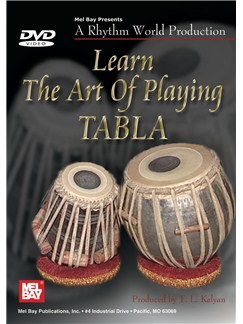 Learn the Art of Playing Tabla DVDs / Videos | Percussion