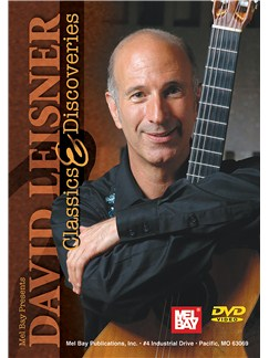 David Leisner:  Classics & Discoveries DVDs / Videos | Guitar