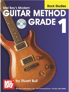 Modern Guitar Method Grade 1, Rock Studies Books and CDs | Guitar, Guitar Tab
