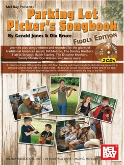 Parking Lot Picker's Songbook - Fiddle Edition Books and CDs | Violin