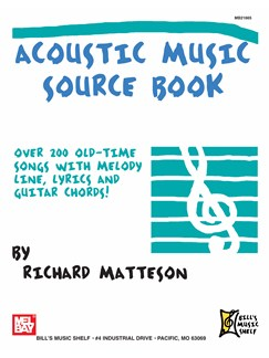 Acoustic Music Source Book Books | Guitar