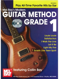 Modern Guitar Method Grade 1: Play All-Time Favorite Hits By Ear Books and CDs | Guitar
