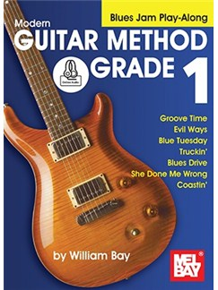 Modern Guitar Method: Grade 1 - Blues Jam Play-Along (Book/Online Audio) Books and Digital Audio | Guitar