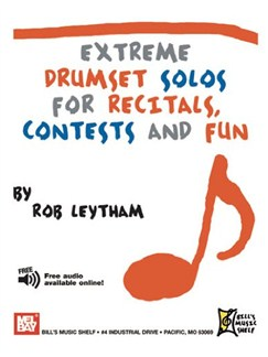 Extreme Drumset Solos for Recitals, Contests and Fun Books | Drums