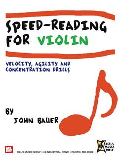 Speed Reading for Violin Books | Violin