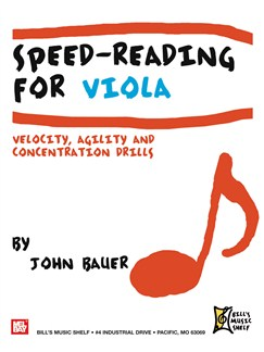Speed Reading for Viola Books | Viola