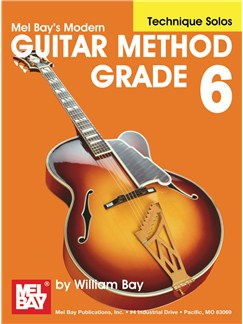 Modern Guitar Method Grade 6, Technique Solos Books | Guitar, Guitar Tab