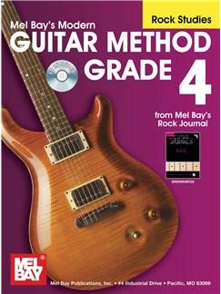 Modern Guitar Method, Grade 4, Rock Studies Books and CDs | Guitar, Guitar Tab