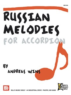 Russian Melodies for Accordion Books | Accordion