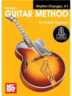 Modern Guitar Method: Rhythm Changes, #1 (Book/Online Audio) Books and Digital Audio | Guitar