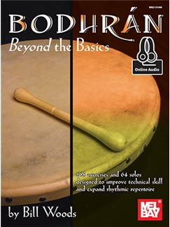 Bill Woods: Bodhran: Beyond The Basics (Book/Online Audio) Books and Digital Audio | Bodhran