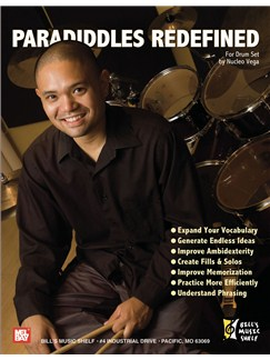 Paradiddles Redefined for Drum Set Books | Drums