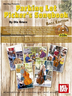 Parking Lot Picker's Songbook - Bass Edition Books and CDs | Bass Guitar