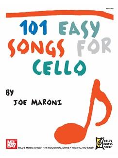 101 Easy Songs for Cello Books | Cello