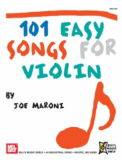 101 Easy Songs for Violin Books | Violin
