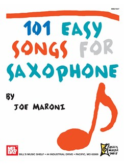 101 Easy Songs for Saxophone Books | Saxophone