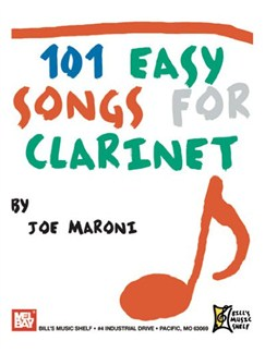 101 Easy Songs for Clarinet Books | Clarinet