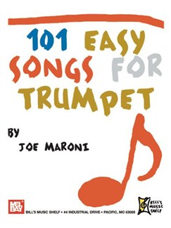 101 Easy Songs for Trumpet Books | Trumpet