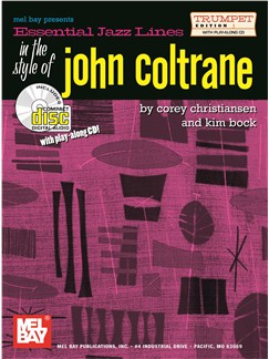 Essential Jazz Lines In The Style Of John Coltrane: Trumpet Edition Books and CDs | Trumpet