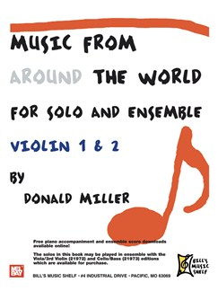 Music From Around The World - Solo & Ensemble Books | Violin