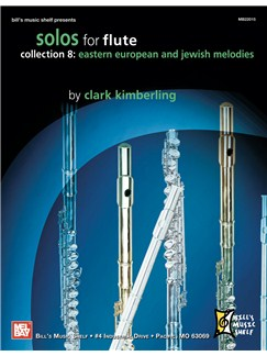 Solos for Flute, Collection 8: Eastern European & Jewish Books | Flute