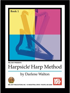 Harpsicle Harp Method, Book 1 Books and DVDs / Videos | Harp