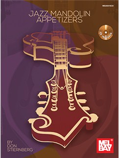 Jazz Mandolin Appetizers: Book/CD Books and CDs | Mandolin
