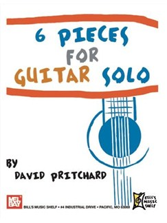 6 Pieces for Guitar Solo Books | Guitar