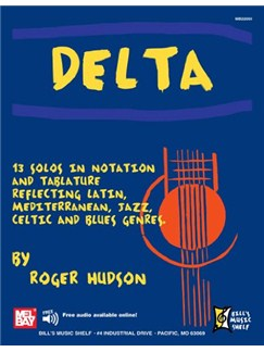 Delta: 13 Solos In Notation And Tablature Books | Guitar, Guitar Tab