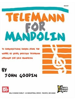 Telemann for Mandolin Books | Mandolin