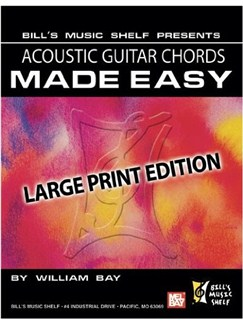 Acoustic Guitar Chords Made Easy Books | Guitar