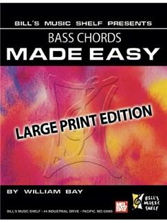 Bass Chords Made Easy Books | Bass Guitar
