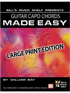 Guitar Capo Chords Made Easy Books | Guitar