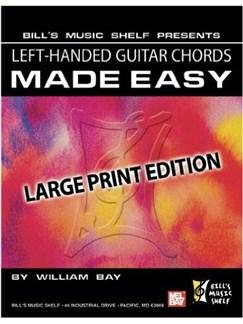 Left-Handed Guitar Chords Made Easy Books | Guitar