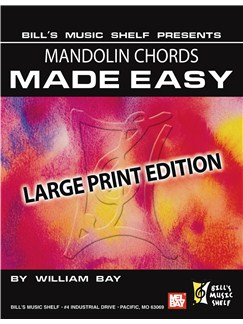 Mandolin Chords Made Easy, Large Print Edition Books | Mandolin