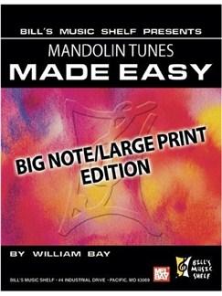 Mandolin Tunes Made Easy, Big Note/Large Print Edition Books | Mandolin