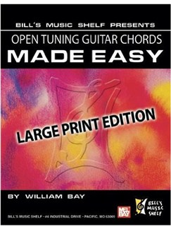 Open Tuning Guitar Chords Made Easy, Books | Guitar